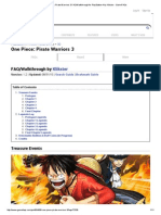 One Piece_ Pirate Warriors 3 FAQ_Walkthrough for PlayStation 4 by Klikster - GameFAQs