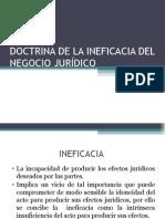 6.- Eficacia e Ineficacia
