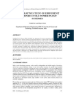 COMPARATIVE STUDY OF DIFFERENT COMBINED CYCLE POWER PLANT SCHEMES