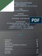 actividad enzimatica-quimica organica