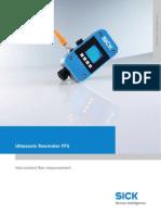 Ffus10-1g1io Flow Sensor