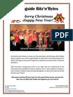 Merry Christmas from Springside Saskatchewan Canada