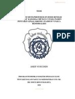 Pengaruh Metyl Prednisolon Pada Pasca Hd