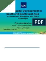 Human Capital Development in South Asia