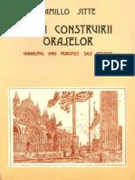 Arta Construirii Oraselor - Camillo Sitte