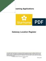 Gateway Location Register Product Description V500