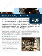 ALS Coal Combustion Testing and Research Fact Sheet