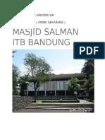 Arsitektur Masjid Salman