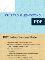 summary of Umts Kpi's Troubleshooting