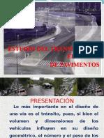 Estudio de Transito Para Diseño de Pavimentos