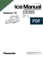 Service Manual NV-MD 10000