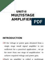 Multistage Amplifier