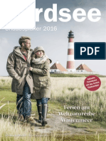 Nordsee Urlaubsplaner 2016