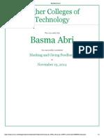 basma abdulla marking and giving feedback