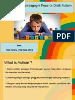 Perspektif Peserta Didik Autism