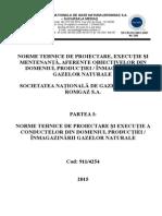 Nt i.1 Norme Tehnice de Proiectare-executie