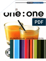 Business One-One Pre-Intermediate - Student's Book