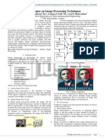research papers image processing Welcome to the imagers website, where you will find information about our image processing research group at ucla our general research area is in mathematical modeling and computational techniques for image processing, especially using partial differential equations.