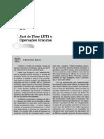 Capítulo 20 - Just in Time e Operações Enxutas (2)