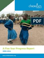 Childreach Tanzania - 5 Year Report 2009-2014