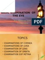 Basic Examination of the Eye