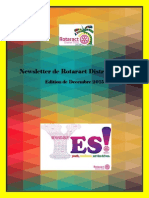 District Newsletter December 2015 (French)
