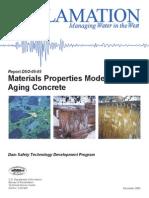 Materials Properties Model of ageing concrete USBR.pdf