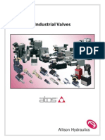 Atos industrial valves