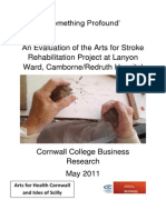 Arts for Stroke Rehabilitation Evaluation
