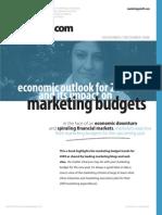 2009 Marketing Budgets