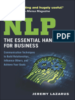 NLP_ the Essential Handbook for Business_ Communicatiouence Others, And Achieve Your Goals - Lazarus, Jeremy