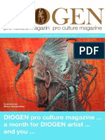 DIOGEN oro art magazine No.1.
