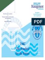 Water Brochure UMC