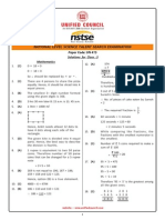 NSTSE Class 3 Solution
