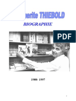 Thiebold Marguerite Biographie 1908-1997
