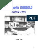 Thiebold Marguerite Biographie 1908-1997