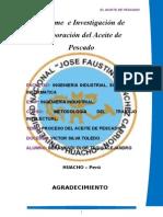 Monografico Del Aceite de Pescado