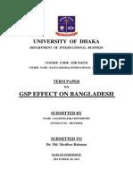 GSP Effect