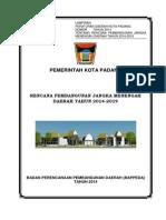 RPJMD Kota Padang 2014-2019