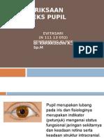Presentasi Refleks Pupil