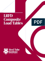 HSS Lrfd Composite Load Tables