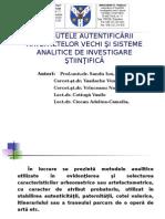 Atributele Autentificarii - Sandu Ion