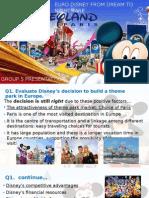 Euro Disney case study