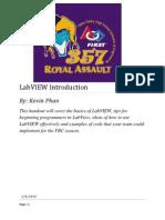 LabVIEW Handouts
