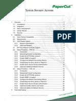 PaperCut MF - Xerox Secure Access Manual