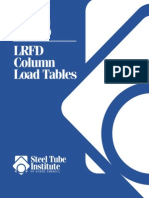 Hollow Structural Sections Lrfd Column Load Tables