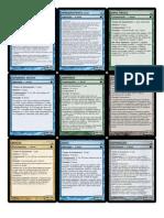 D&D 5e - Cartas Das Magias Básicas