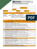 Ficha de Monitoreo de Practica