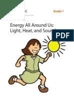 Light Heat Enery Around Us-Grad 1