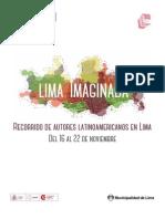 Lima Imaginada - Recorrido de autores latinoamericanos en Lima 2015